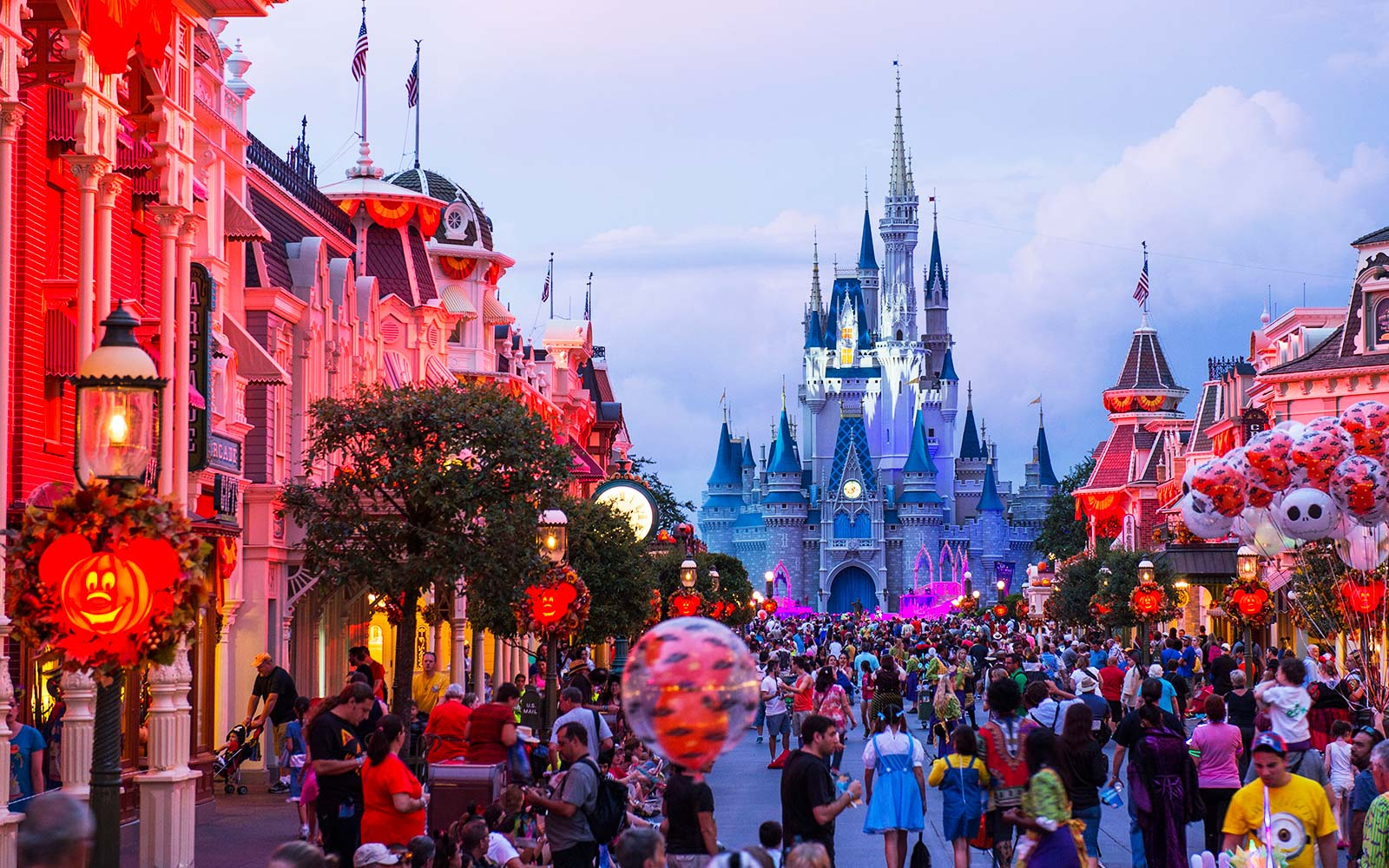 Mickey's Not-So-Scary Halloween Party Transforms Magic Kingdom After Dark